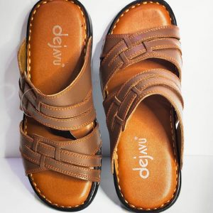genuine leather open sandals for men
